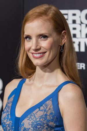 Actress Jessica Chastain.