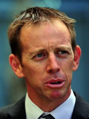 ACT Housing Minister Shane Rattenbury.