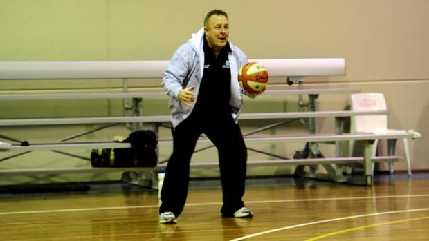 Canberra Capitals assistant coach David Herbert.