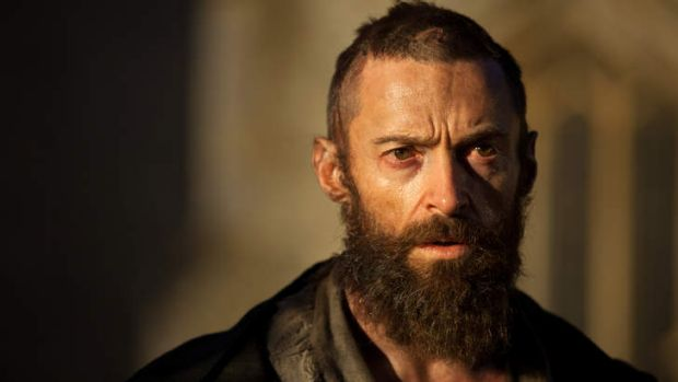 "Hugh Jackman as Jean Valjean in ""Les Miserables''."