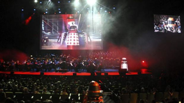 Melbourne Symphony Orchestra perform Doctor Who.