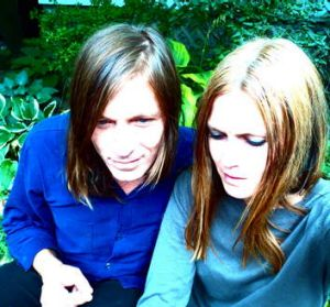 Evan Dando and Juliana Hatfield