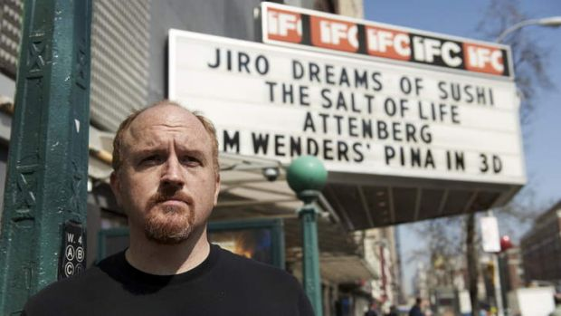 The power of the dark side … Louis C.K. hits a rich vein of humour in <i>Louie</i>.