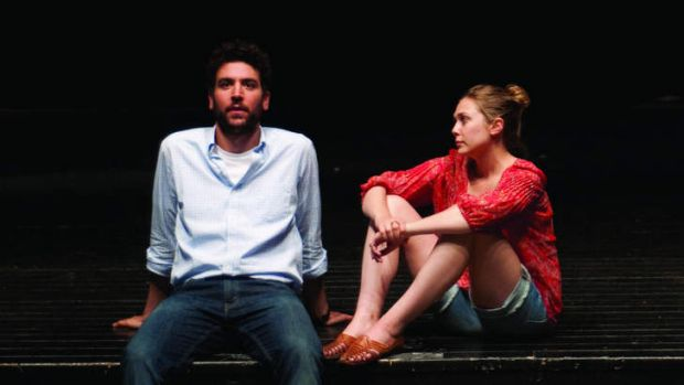 Learning curve … Josh Radnor and Elizabeth Olsen in <i>Liberal Arts</i>.