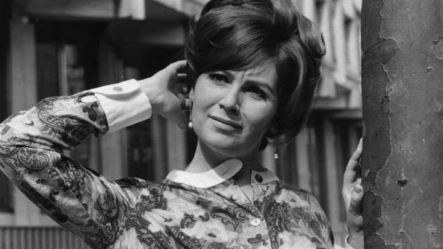 Saying the unsayable … Edna O'Brien, pictured in 1966, dealt frankly with the topics of sex and desire.