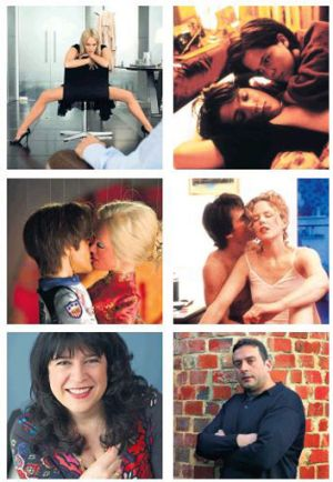 All action … (clockwise from top left) Sharon Stone in <i>Basic Instinct</i>; <i>Y Tu Mama Tambien</i>; Tom Cruise ...