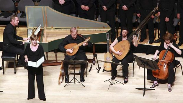 Wide repertoire … from left, Paul Dyer, Ellen Winhall, Tommie Andersson, Samantha Cohen and Rosemary Quinn.