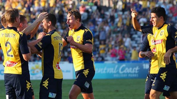 Warts and all ... Central Coast Mariners will give fans an access-all-areas pass.