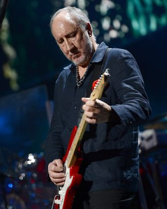 The Who guitarist Pete Townshend.