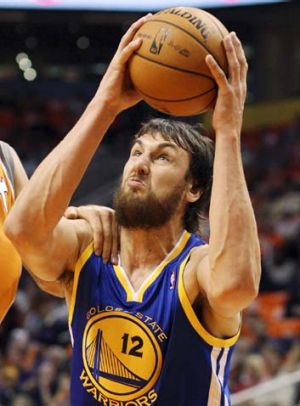 Wounded Warrior ... Andrew Bogut ($13.5 million) is at the top of the BRW list, despite being injured this year.