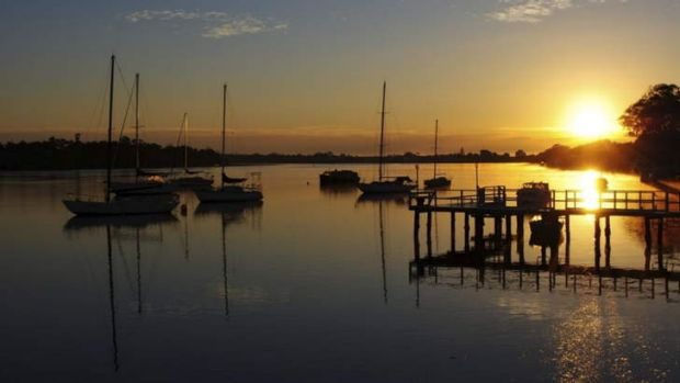 Entrant into The Canberra Times' summer photo competition. Sunrise at Port Macquarie.
