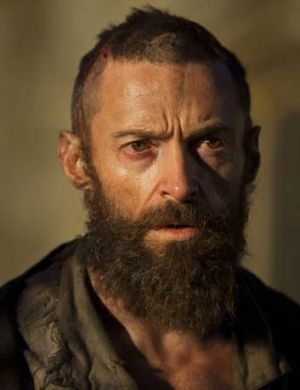 <em>Les Miserables'</em> star gains attention ... Hugh Jackman.