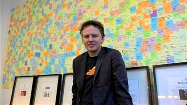 Matthew Prince, chief executive, CloudFlare, in his office in San Francisco December 10, 2012.