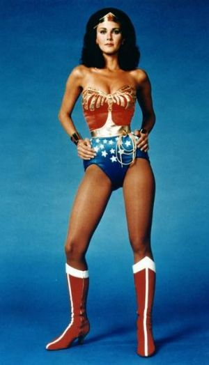 Lynda Carter, statuesque, wasp-waisted, commanding, brought a signature style to the role of  Wonder Woman.