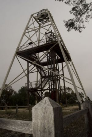 The old Victoria Hill Mine.