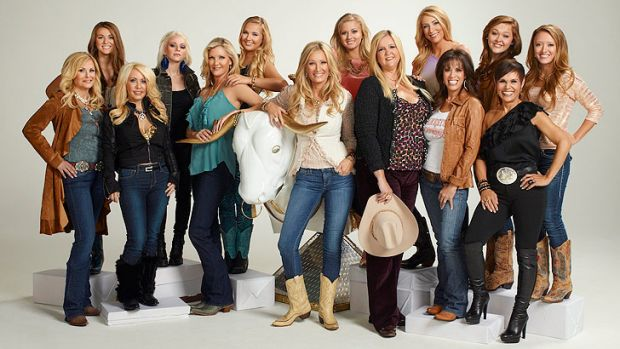 The women of <i>Big Rich Texas</i>.