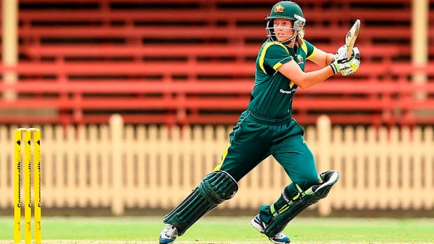 Australian opener Meg Lanning got her side off to a flying start.