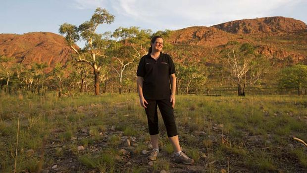 Work experience … Sarah Pohlen is the 1000th business person to be placed by Jawun to work for an Aboriginal ...
