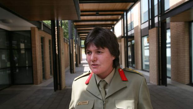 The Australian Defence Force's chief prosecutor Lyn McDade.