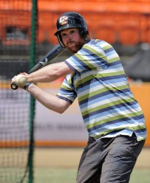 Canberra Times reporter David Polkinghorne gets a taste of what it's like for ABL batters while taking on Cavalry ...