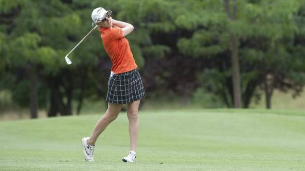 Nikki Campbell is trying to make the Ladies European Tour.