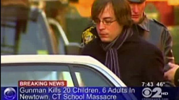 Incorrectly targeted ... Ryan Lanza, the 24-year-old brother of Sandy Hook Elementary School shooter Adam Lanza, is ...