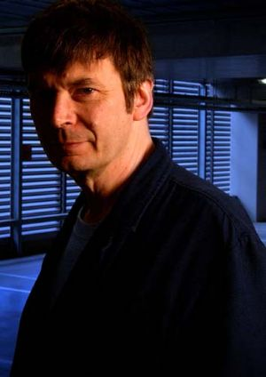Keeping it real ... Ian Rankin.