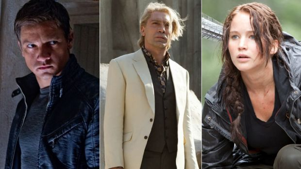 Anti-establishment ... <em>The Bourne Legacy</em>; Raoul Silva could be an Avenger; <em>The Hunger Games's</em> Katniss.