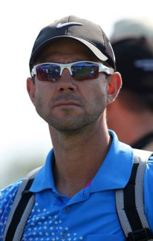 Passionate Roo: Ricky Ponting.