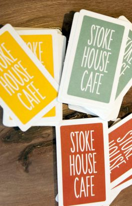 Stokehouse cafe cards.