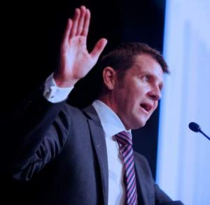 New South Wales Coalition Treasurer Mike Baird.