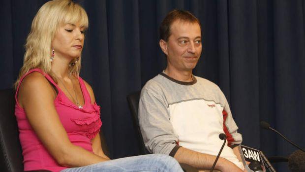 Douglas Kally's sister Elizabeth Dordevic and brother Alex Dordevic.