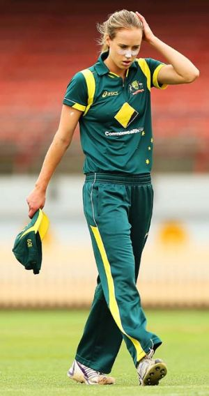 Injury worries: Ellyse Perry.