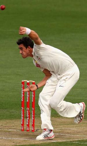 Expensive ... Mitchell Starc.
