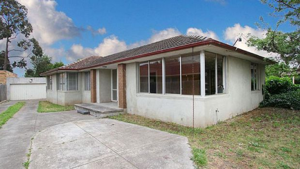 Best bargain ... This partly-renovated four bedroom house in Aldous Court, Epping, sold for $245,000.