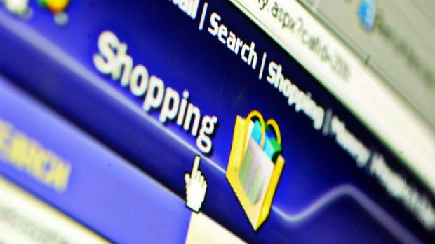 Minor part ... online sales climbed to $12.3 billion by the end of October but they make up only 5.6 per cent of total ...