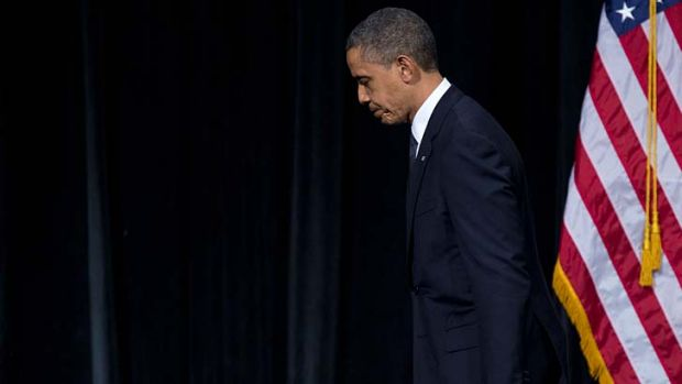 """We can't tolerate this any more ... These tragedies must end. And to end them, we must change"" ... US President Barack ..."