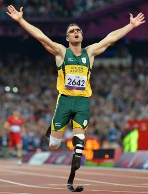 South Africa's Oscar Pistorius wowed audiences at the London Olympics by reaching the semi-finals of the 400 metres.