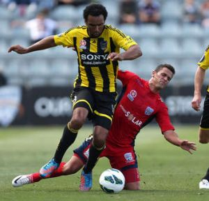 Paul Ifill takes on Adelaide United on December 16.