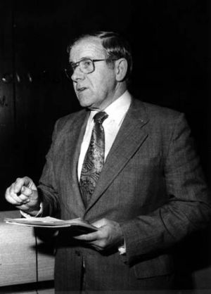 Made workplaces safer ... Joe Riordan was head of the NSW Department of Industrial Relations in the Wran government.