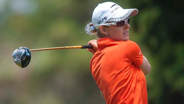 Nikki Campbell finished in a tie for second at 19-under-par after firing a final-round six-under 66 in Morocco.