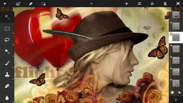 The Adobe Photoshop Touch app is the big daddy of portable photo editors, with an endless array of possibilities making ...