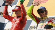 Stoner-Rossi rivalry alive four years on (Video Thumbnail)