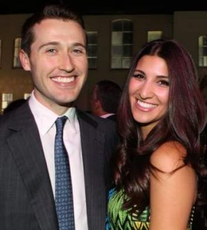 Tom Waterhouse and wife, Hoda Vakili.