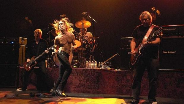 Iggy and the Stooges will play Festival Hall in March.