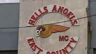 Police search for Hells Angel standover man (Video Thumbnail)
