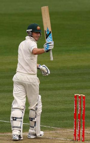 Top of the pile: Michael Clarke.
