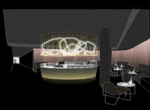 Artist impression of the cinema's Prosecco Bar.