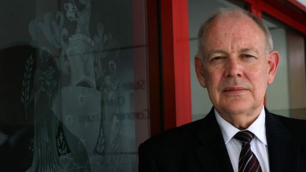 Graeme Johnstone when he stepped down as state coroner in late 2007.