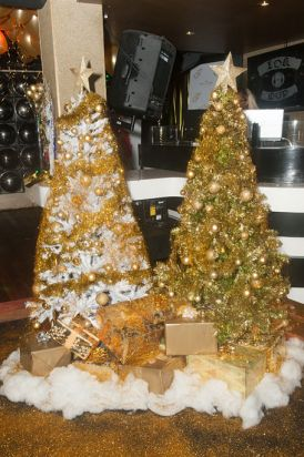 The Gold Bar Christmas Tree.